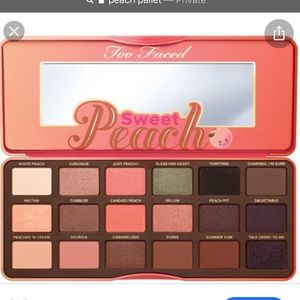 Toofaced Peach pallet